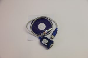 USB to Serial adapter cable and driver software CD